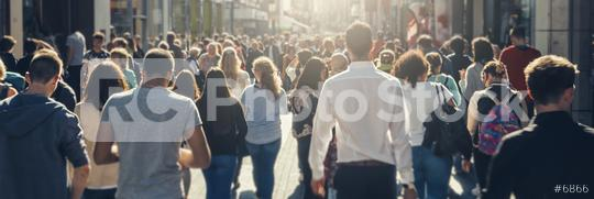 crowd of people in a shopping street  : Stock Photo or Stock Video Download rcfotostock photos, images and assets rcfotostock | RC-Photo-Stock.: