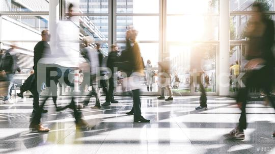 crowd of people rushing in a trade show  : Stock Photo or Stock Video Download rcfotostock photos, images and assets rcfotostock | RC-Photo-Stock.: