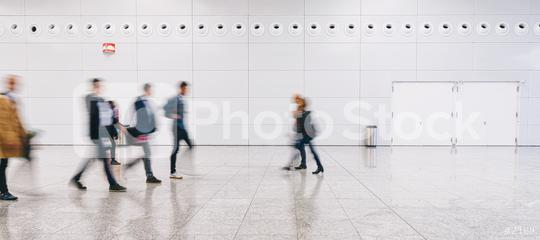 crowd of people walking at a trade fair  : Stock Photo or Stock Video Download rcfotostock photos, images and assets rcfotostock | RC-Photo-Stock.: