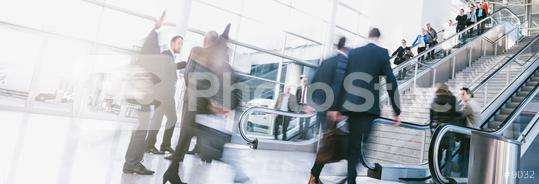 crowds of people in motion blur on a trade fair  : Stock Photo or Stock Video Download rcfotostock photos, images and assets rcfotostock | RC-Photo-Stock.: