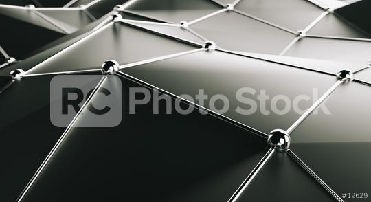 dark polygonal metaphor network connection - 3D Rendering  : Stock Photo or Stock Video Download rcfotostock photos, images and assets rcfotostock | RC-Photo-Stock.: