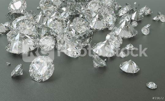 Diamonds background, includin copy space - 3D Rendering  : Stock Photo or Stock Video Download rcfotostock photos, images and assets rcfotostock | RC-Photo-Stock.: