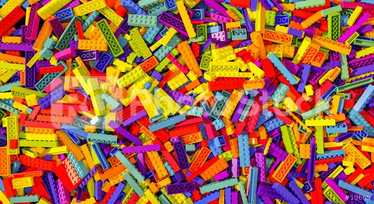 different colorful toy bricks background - concept image - 3D Rendering Illustration  : Stock Photo or Stock Video Download rcfotostock photos, images and assets rcfotostock | RC-Photo-Stock.: