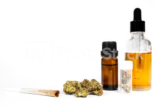 different types of medicinal cannabis - CBD alternative medicine, cannabis oil, marijuana joint for pain  : Stock Photo or Stock Video Download rcfotostock photos, images and assets rcfotostock | RC-Photo-Stock.: