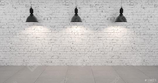 Drei Lampen hängen im Raum  : Stock Photo or Stock Video Download rcfotostock photos, images and assets rcfotostock | RC-Photo-Stock.:
