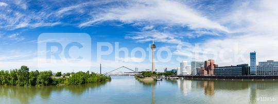 dusseldorf panorama  : Stock Photo or Stock Video Download rcfotostock photos, images and assets rcfotostock | RC-Photo-Stock.: