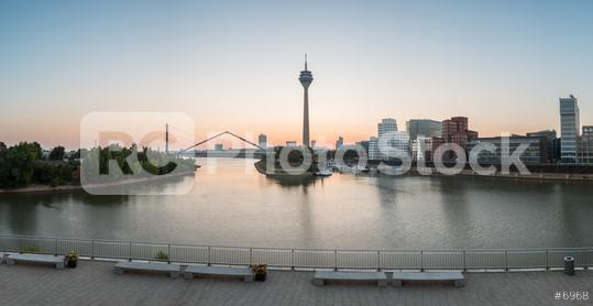 Dusseldorf sunrise panorama  : Stock Photo or Stock Video Download rcfotostock photos, images and assets rcfotostock   RC-Photo-Stock.: