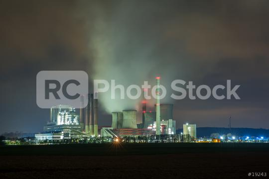electricity factory at night  : Stock Photo or Stock Video Download rcfotostock photos, images and assets rcfotostock | RC-Photo-Stock.: