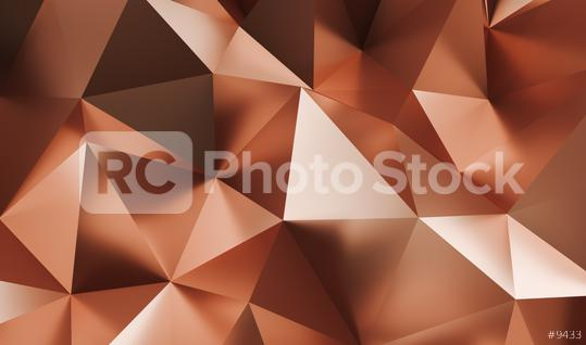 Elegant luxury Abstract copper or Low-poly Background - 3D rendering - Illustration  : Stock Photo or Stock Video Download rcfotostock photos, images and assets rcfotostock   RC-Photo-Stock.: