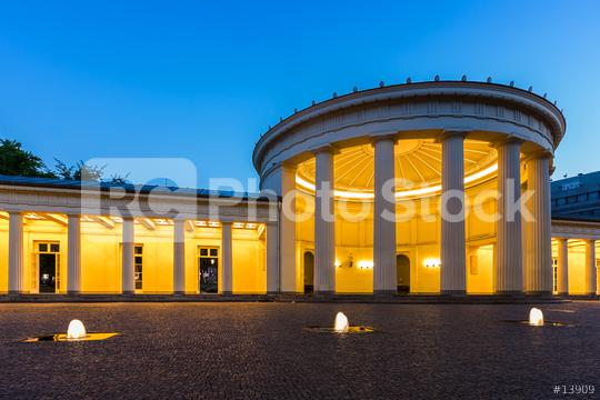 Elisenbrunnen mineral springs in Aachen  : Stock Photo or Stock Video Download rcfotostock photos, images and assets rcfotostock | RC-Photo-Stock.:
