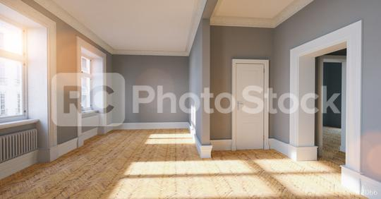 Empty bright white room in old building in berlin  : Stock Photo or Stock Video Download rcfotostock photos, images and assets rcfotostock   RC-Photo-Stock.: