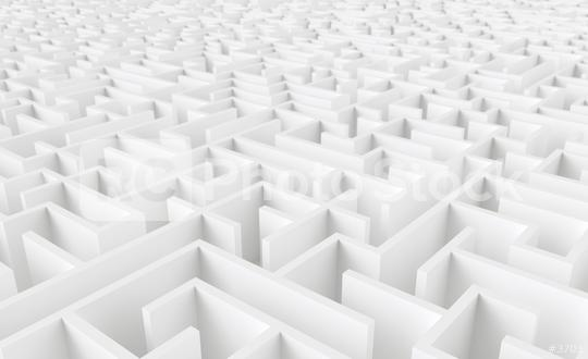 endless maze - 3d rendering  : Stock Photo or Stock Video Download rcfotostock photos, images and assets rcfotostock | RC-Photo-Stock.: