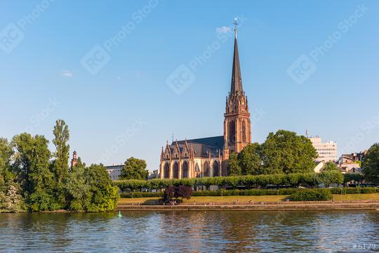 Epiphany church (Dreikönigskirche) at Frankfurt am Main, Germany  : Stock Photo or Stock Video Download rcfotostock photos, images and assets rcfotostock | RC-Photo-Stock.:
