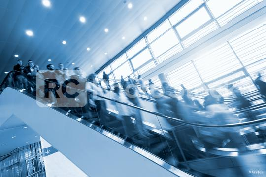 escalator at a Exhibition  : Stock Photo or Stock Video Download rcfotostock photos, images and assets rcfotostock | RC-Photo-Stock.: