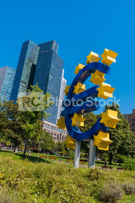 EURO sign at Frankfurt  : Stock Photo or Stock Video Download rcfotostock photos, images and assets rcfotostock   RC-Photo-Stock.: