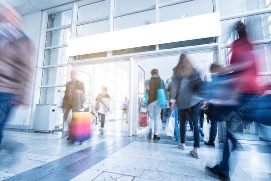 European consumer trade fair entrance  : Stock Photo or Stock Video Download rcfotostock photos, images and assets rcfotostock   RC-Photo-Stock.: