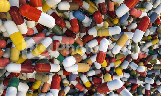 falling capsule pills close up background - 3D Rendering  : Stock Photo or Stock Video Download rcfotostock photos, images and assets rcfotostock | RC-Photo-Stock.: