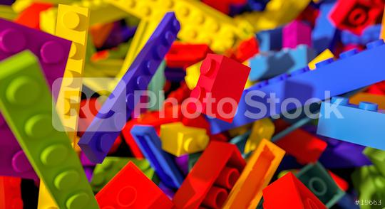 falling toy bricks - concept image - 3D Rendering Illustration  : Stock Photo or Stock Video Download rcfotostock photos, images and assets rcfotostock   RC-Photo-Stock.: