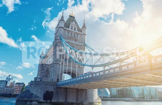 Famous Tower Bridge in the evening, London, England Tower Bridge, London, UK  : Stock Photo or Stock Video Download rcfotostock photos, images and assets rcfotostock | RC-Photo-Stock.: