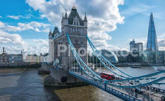 Financial District of London and the Tower Bridge  : Stock Photo or Stock Video Download rcfotostock photos, images and assets rcfotostock | RC-Photo-Stock.:
