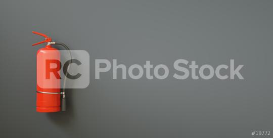 Fire extinguisher on a black wall, with copy space for individual text  : Stock Photo or Stock Video Download rcfotostock photos, images and assets rcfotostock | RC-Photo-Stock.:
