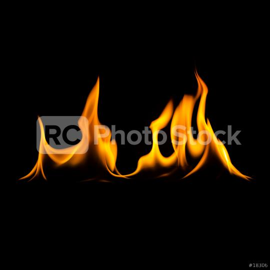 fire flames wall on black background  : Stock Photo or Stock Video Download rcfotostock photos, images and assets rcfotostock | RC-Photo-Stock.: