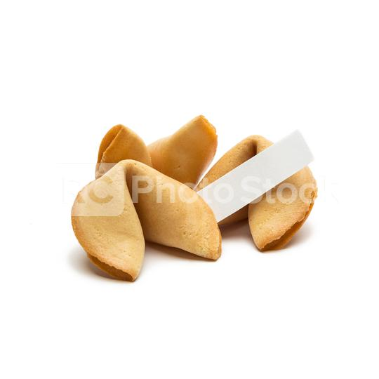 fortune cookies with note on white  : Stock Photo or Stock Video Download rcfotostock photos, images and assets rcfotostock   RC-Photo-Stock.: