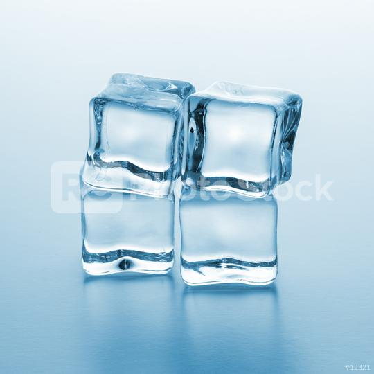 four ice cubes  : Stock Photo or Stock Video Download rcfotostock photos, images and assets rcfotostock | RC-Photo-Stock.: