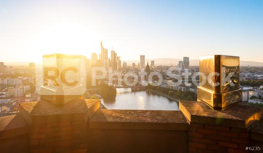 Frankfurt am Main at summer  : Stock Photo or Stock Video Download rcfotostock photos, images and assets rcfotostock | RC-Photo-Stock.: