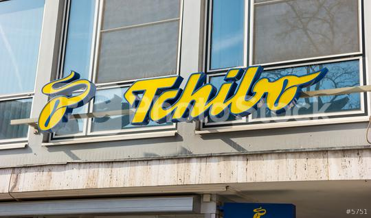 FRANKFURT, GERMANY MARCH, 2017: Tchibo Logo on a Shop. Tchibo is a German chain of coffee retailers and cafes, more than 12,300 employee.  : Stock Photo or Stock Video Download rcfotostock photos, images and assets rcfotostock | RC-Photo-Stock.: