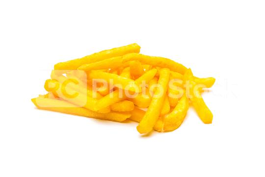 French fries potatos on white  : Stock Photo or Stock Video Download rcfotostock photos, images and assets rcfotostock | RC-Photo-Stock.: