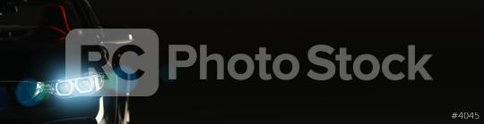 Front of a modern sports car with copyspace for your individual text, banner size  : Stock Photo or Stock Video Download rcfotostock photos, images and assets rcfotostock | RC-Photo-Stock.:
