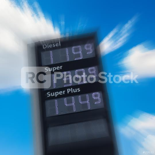 gas station scoreboard with prices  : Stock Photo or Stock Video Download rcfotostock photos, images and assets rcfotostock | RC-Photo-Stock.: