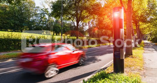 german speed control camera or car trap   : Stock Photo or Stock Video Download rcfotostock photos, images and assets rcfotostock | RC-Photo-Stock.: