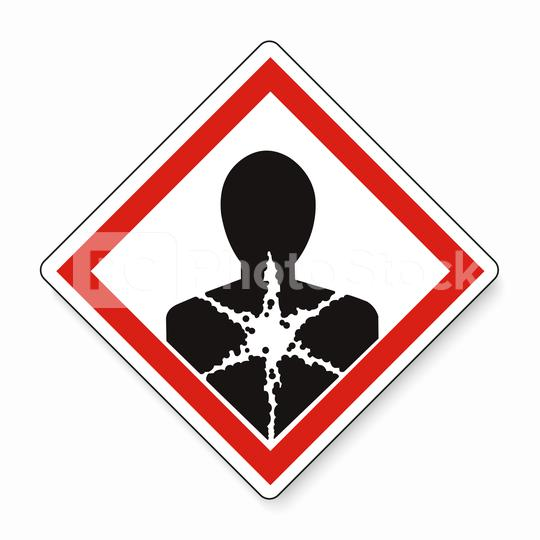 GHS hazard pictogram - LONGER TERM HEALTH HAZARD , hazard warning sign LONGER TERM HEALTH HAZARD on white background. Vector illustration. Eps 10 vector file.  : Stock Photo or Stock Video Download rcfotostock photos, images and assets rcfotostock | RC-Photo-Stock.: