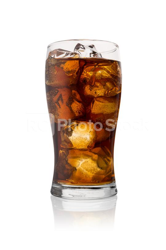 glass of cola drink with ice  : Stock Photo or Stock Video Download rcfotostock photos, images and assets rcfotostock   RC-Photo-Stock.: