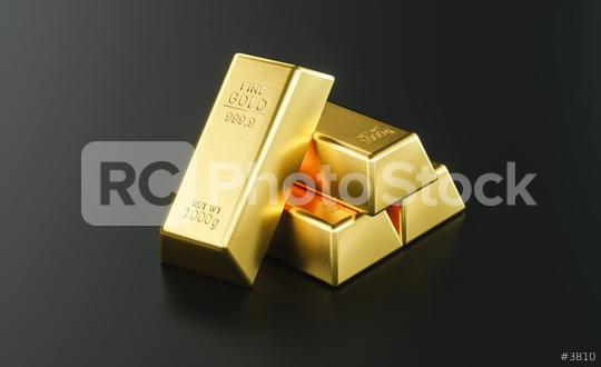 Gold bar close up shot on black background   : Stock Photo or Stock Video Download rcfotostock photos, images and assets rcfotostock   RC-Photo-Stock.: