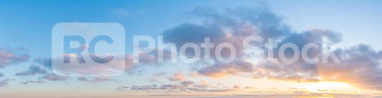 Gorgeous Panorama twilight sky and cloud at morning background  : Stock Photo or Stock Video Download rcfotostock photos, images and assets rcfotostock | RC-Photo-Stock.: