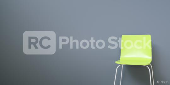 green chair in a waiting room, with copy space for individual text   : Stock Photo or Stock Video Download rcfotostock photos, images and assets rcfotostock | RC-Photo-Stock.: