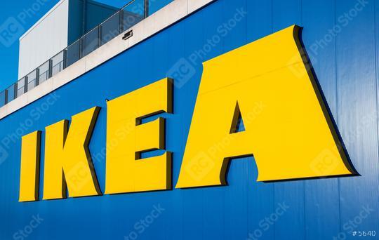 HEERLEN, NETHERLANDS FEBRUARY, 2017: The Ikea logo. IKEA is the world