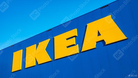 HEERLEN, NETHERLANDS FEBRUARY, 2017: The Ikea store Logo. IKEA is the world