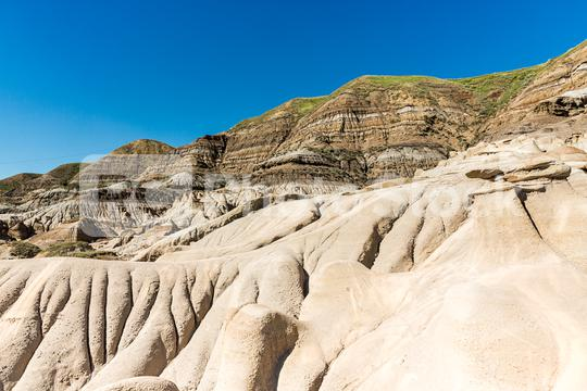 Hoodoo mountains east of Drumheller Alberta canada  : Stock Photo or Stock Video Download rcfotostock photos, images and assets rcfotostock | RC-Photo-Stock.: