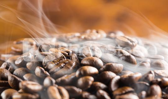 hot coffee beans with steam  : Stock Photo or Stock Video Download rcfotostock photos, images and assets rcfotostock | RC-Photo-Stock.: