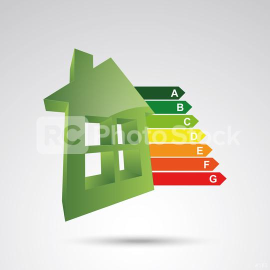 House energy classes certifications, 3d design. Vector illustration. Eps 10 vector file.  : Stock Photo or Stock Video Download rcfotostock photos, images and assets rcfotostock | RC-Photo-Stock.: