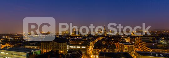 imperial city of aachen at night  : Stock Photo or Stock Video Download rcfotostock photos, images and assets rcfotostock | RC-Photo-Stock.: