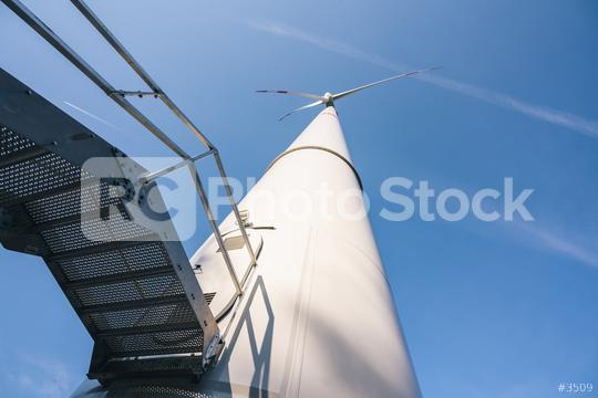 industriel wind turbines generating electricity with blue sky - energy conservation concept  : Stock Photo or Stock Video Download rcfotostock photos, images and assets rcfotostock | RC-Photo-Stock.: