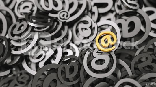 Infinite Email sign, marketingm, spam and newsletter concept image  : Stock Photo or Stock Video Download rcfotostock photos, images and assets rcfotostock | RC-Photo-Stock.: