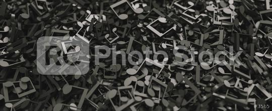 Infinite musical notes and musical signs of abstract music sheet. Songs and melody concept image  : Stock Photo or Stock Video Download rcfotostock photos, images and assets rcfotostock | RC-Photo-Stock.: