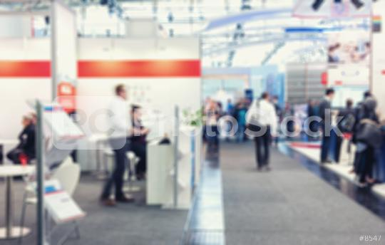 Intentionally blurred trade show booth background  : Stock Photo or Stock Video Download rcfotostock photos, images and assets rcfotostock | RC-Photo-Stock.: