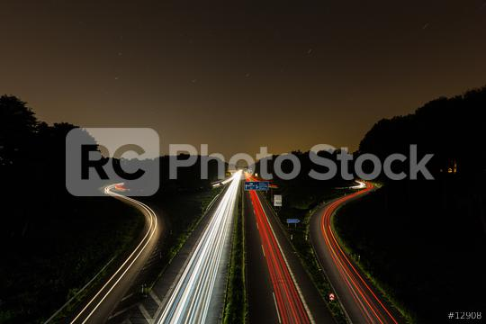 interchange at night with lighttrails  : Stock Photo or Stock Video Download rcfotostock photos, images and assets rcfotostock   RC-Photo-Stock.: